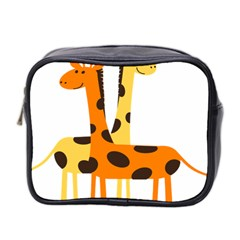 Giraffe Africa Safari Wildlife Mini Toiletries Bag 2 Side