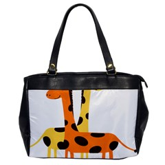 Giraffe Africa Safari Wildlife Office Handbags