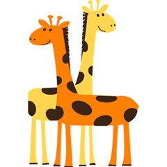 Giraffe Africa Safari Wildlife 5 5  X 8 5  Notebooks