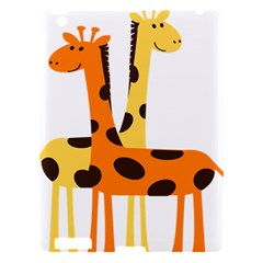 Giraffe Africa Safari Wildlife Apple Ipad 3/4 Hardshell Case