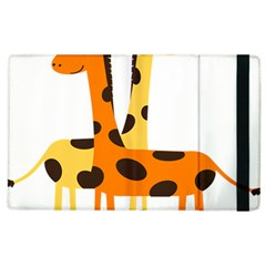 Giraffe Africa Safari Wildlife Apple Ipad 3/4 Flip Case