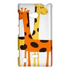 Giraffe Africa Safari Wildlife Nokia Lumia 720