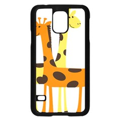 Giraffe Africa Safari Wildlife Samsung Galaxy S5 Case (black)