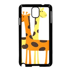 Giraffe Africa Safari Wildlife Samsung Galaxy Note 3 Neo Hardshell Case (black)