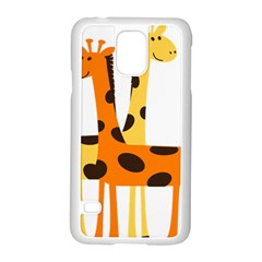 Giraffe Africa Safari Wildlife Samsung Galaxy S5 Case (white)
