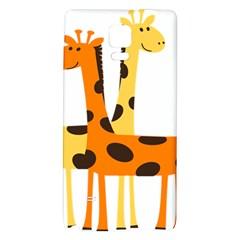 Giraffe Africa Safari Wildlife Galaxy Note 4 Back Case
