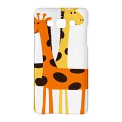 Giraffe Africa Safari Wildlife Samsung Galaxy A5 Hardshell Case