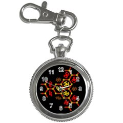 Algorithmic Drawings Key Chain Watches