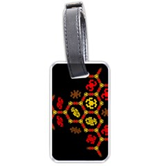 Algorithmic Drawings Luggage Tags (two Sides)