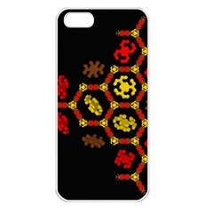 Algorithmic Drawings Apple Iphone 5 Seamless Case (white)