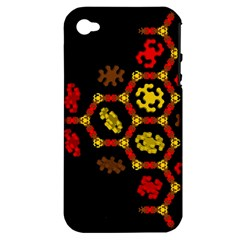 Algorithmic Drawings Apple Iphone 4/4s Hardshell Case (pc+silicone)