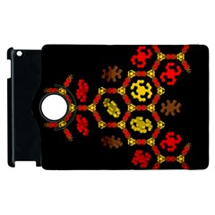 Algorithmic Drawings Apple Ipad 3/4 Flip 360 Case