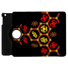 Algorithmic Drawings Apple Ipad Mini Flip 360 Case