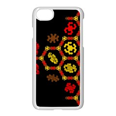 Algorithmic Drawings Apple Iphone 7 Seamless Case (white)