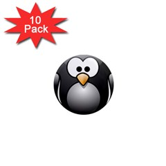 Penguin Birds Aquatic Flightless 1  Mini Magnet (10 Pack)