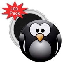 Penguin Birds Aquatic Flightless 2 25  Magnets (100 Pack)