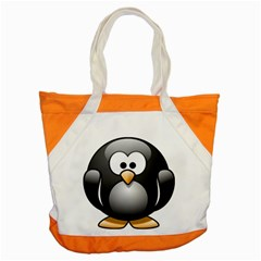 Penguin Birds Aquatic Flightless Accent Tote Bag