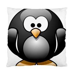 Penguin Birds Aquatic Flightless Standard Cushion Case (one Side)