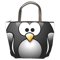 Penguin Birds Aquatic Flightless Bucket Bags