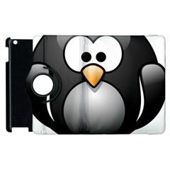 Penguin Birds Aquatic Flightless Apple Ipad 3/4 Flip 360 Case