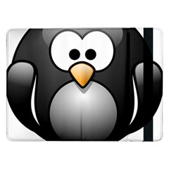Penguin Birds Aquatic Flightless Samsung Galaxy Tab Pro 12 2  Flip Case