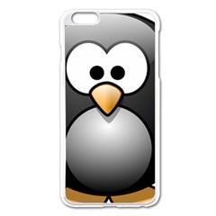 Penguin Birds Aquatic Flightless Apple Iphone 6 Plus/6s Plus Enamel White Case