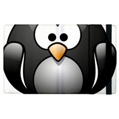 Penguin Birds Aquatic Flightless Apple Ipad Pro 12 9   Flip Case