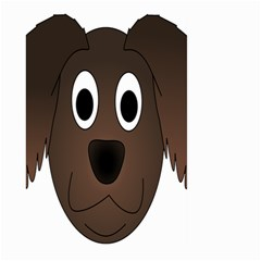 Dog Pup Animal Canine Brown Pet Large Garden Flag (two Sides)