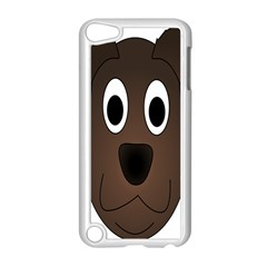 Dog Pup Animal Canine Brown Pet Apple Ipod Touch 5 Case (white)
