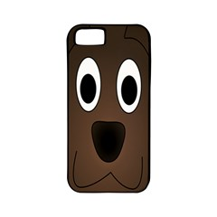 Dog Pup Animal Canine Brown Pet Apple Iphone 5 Classic Hardshell Case (pc+silicone)