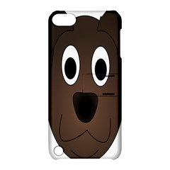 Dog Pup Animal Canine Brown Pet Apple Ipod Touch 5 Hardshell Case With Stand