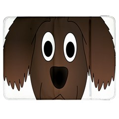 Dog Pup Animal Canine Brown Pet Samsung Galaxy Tab 7  P1000 Flip Case