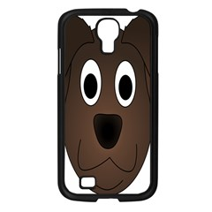 Dog Pup Animal Canine Brown Pet Samsung Galaxy S4 I9500/ I9505 Case (black)