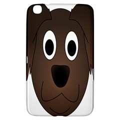 Dog Pup Animal Canine Brown Pet Samsung Galaxy Tab 3 (8 ) T3100 Hardshell Case