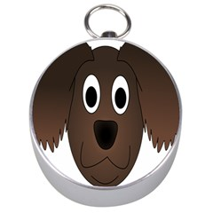 Dog Pup Animal Canine Brown Pet Silver Compasses