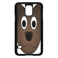 Dog Pup Animal Canine Brown Pet Samsung Galaxy S5 Case (black)