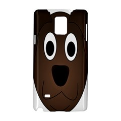 Dog Pup Animal Canine Brown Pet Samsung Galaxy Note 4 Hardshell Case