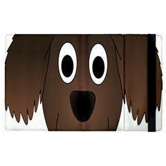 Dog Pup Animal Canine Brown Pet Apple Ipad Pro 12 9   Flip Case