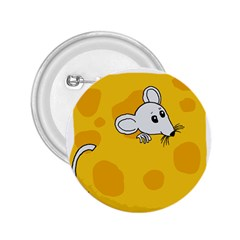 Rat Mouse Cheese Animal Mammal 2 25  Buttons