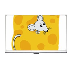 Rat Mouse Cheese Animal Mammal Business Card Holders by Nexatart