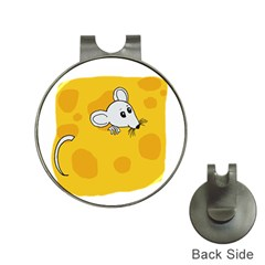 Rat Mouse Cheese Animal Mammal Hat Clips With Golf Markers