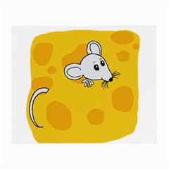 Rat Mouse Cheese Animal Mammal Small Glasses Cloth