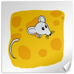 Rat Mouse Cheese Animal Mammal Canvas 16  X 16