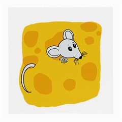 Rat Mouse Cheese Animal Mammal Medium Glasses Cloth (2 Side)