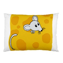 Rat Mouse Cheese Animal Mammal Pillow Case