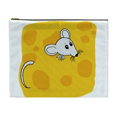Rat Mouse Cheese Animal Mammal Cosmetic Bag (xl)