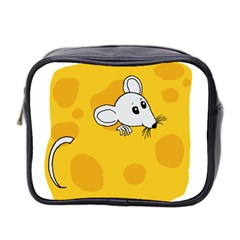 Rat Mouse Cheese Animal Mammal Mini Toiletries Bag 2 Side