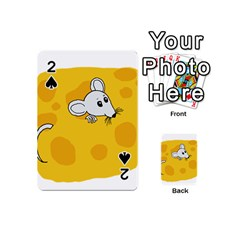 Rat Mouse Cheese Animal Mammal Playing Cards 54 (mini)