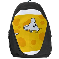 Rat Mouse Cheese Animal Mammal Backpack Bag