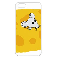 Rat Mouse Cheese Animal Mammal Apple Iphone 5 Seamless Case (white)